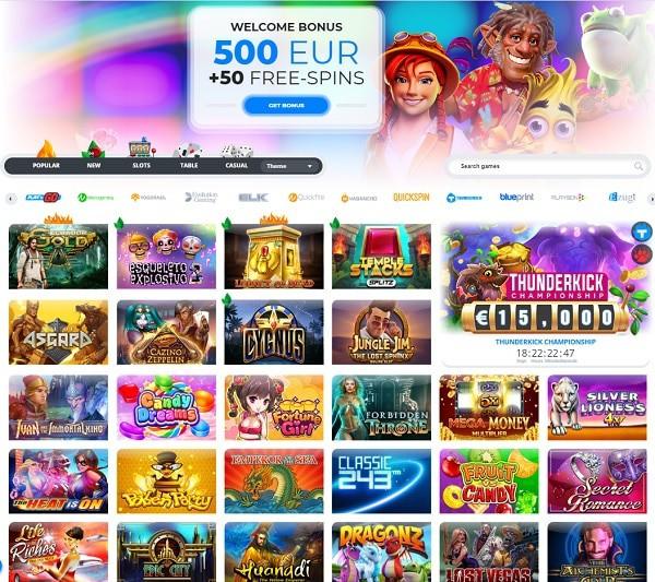 Ego Casino 20 free spins bonus
