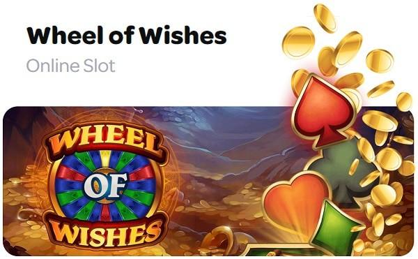 Wheel of Wishes jackpot free spins bonus