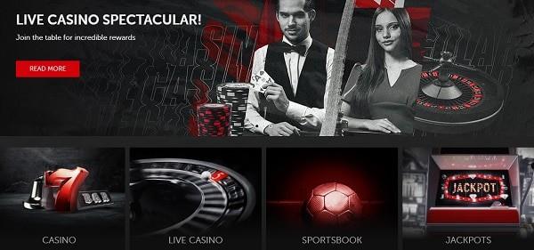 Exclusive Welcome Bonus: Casino, Live Dealer, Poker, Bingo, Spotsbook