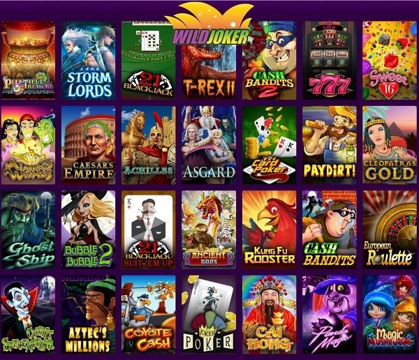 Wild Joker Casino 50 free spins bonus