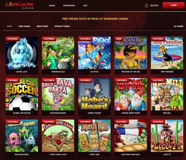 DomGame Casino Review
