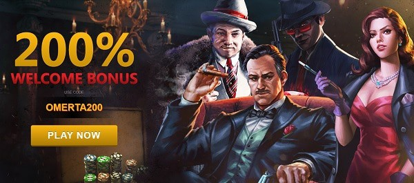 200% and 300% welcome bonus plus $30 free chips codes
