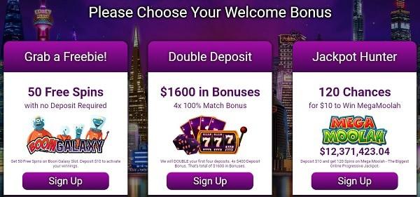 3 bonuses