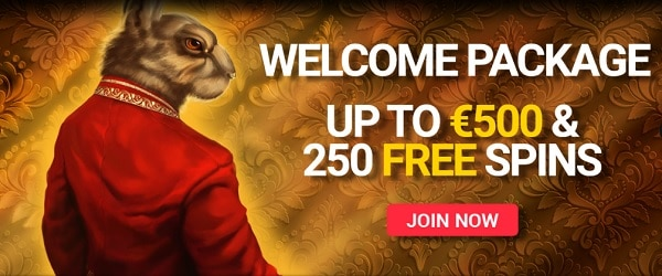 Open your account and get free bonus and free spins