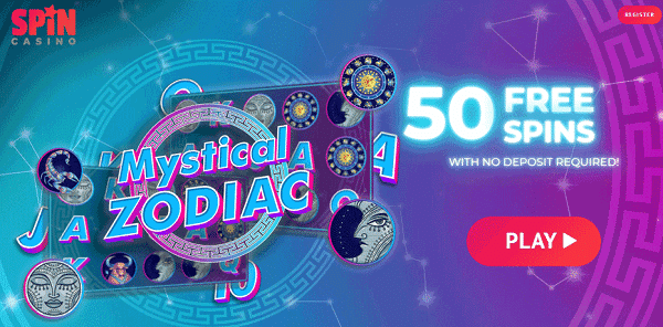 Play 50 Free Spins and win real money!