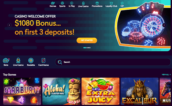 Collect 3-tier welcome bonus pack