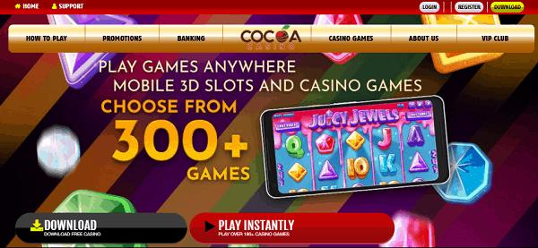 Cocoa US bonus