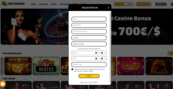 Sign up and play for free!