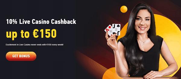 Live Casino with free money