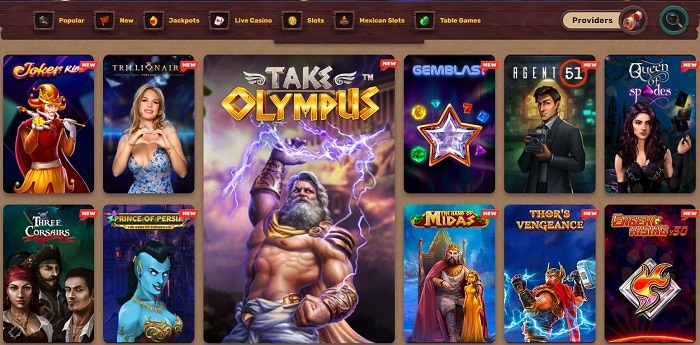 New Video Slots Free Spins