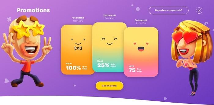 Emojino Bonuses