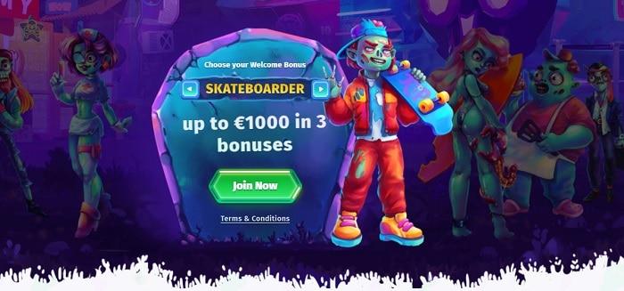 1000 euro free bonus
