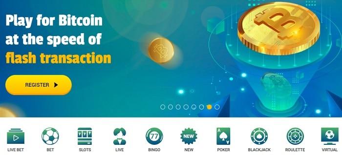 Brazino Bitcoin Casino