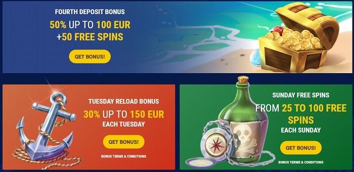 Reload Bonus, Cashback, VIP Promotion