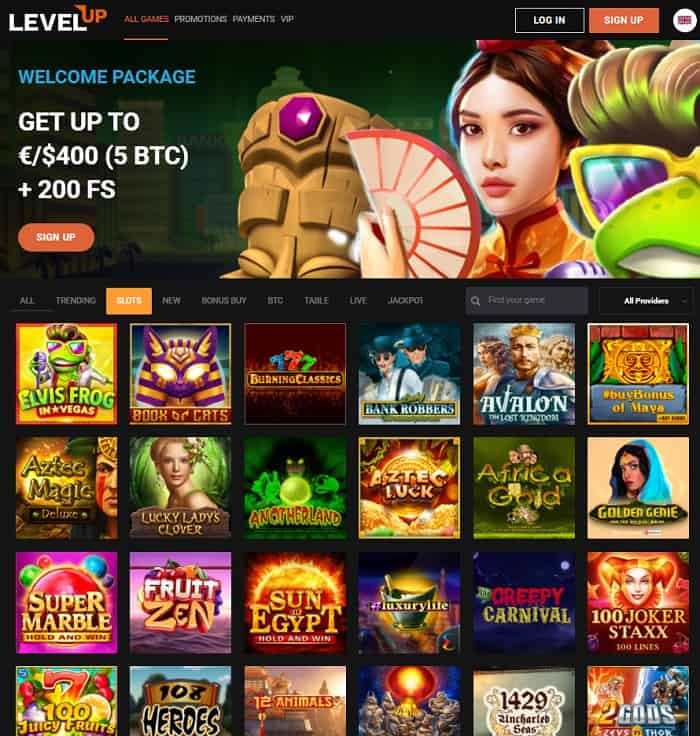 LevelUp 5 Bitcoins