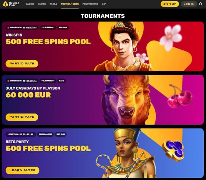 Enjoy Free Slot Tournaments!
