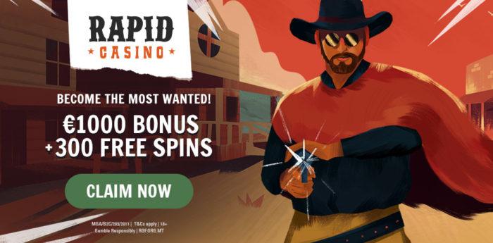 Dapatkan 300 putaran gratis di Cowboy!